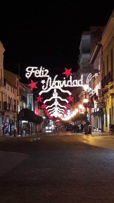 ... vlak voor kerst ...