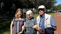 V.l.n.r. Jan, Anne en Peter