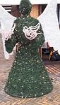 Kerst-engel is groen