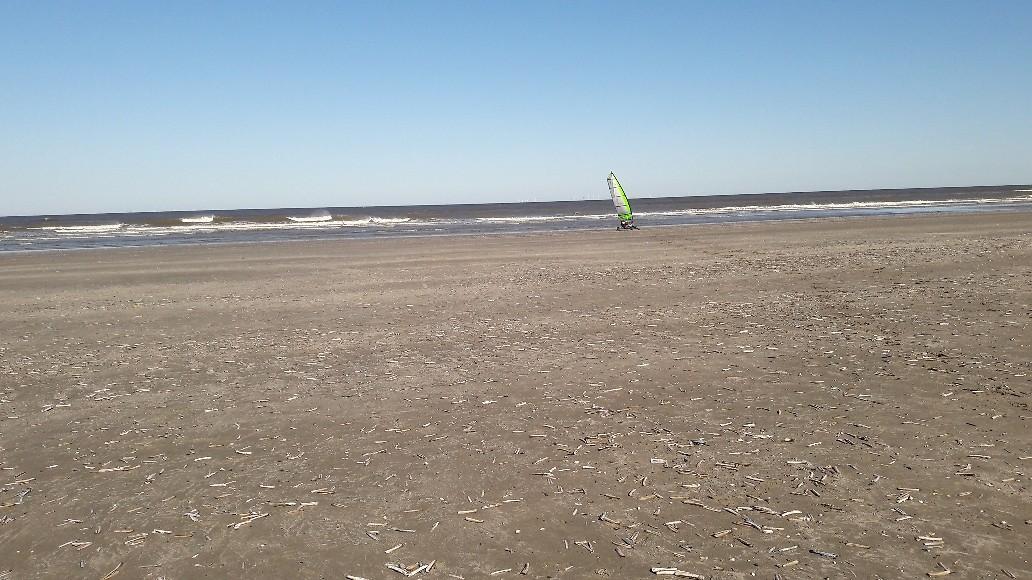 Mooi strandje! Ben ik in beeld?