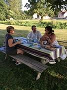 Diner met Patrick en Dominique