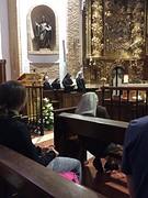 Pelgrimsmis in de kloosterkerk