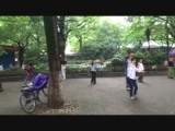 Tai chi en dansen in het park