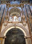 Onderdeel van de kathedraal in Santiago