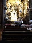 In de kathedraal van Santiago