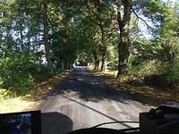 2018-10-04 Mooi he deze snelweg naar Duitsland 001 (het laatste stukje voor de grens)