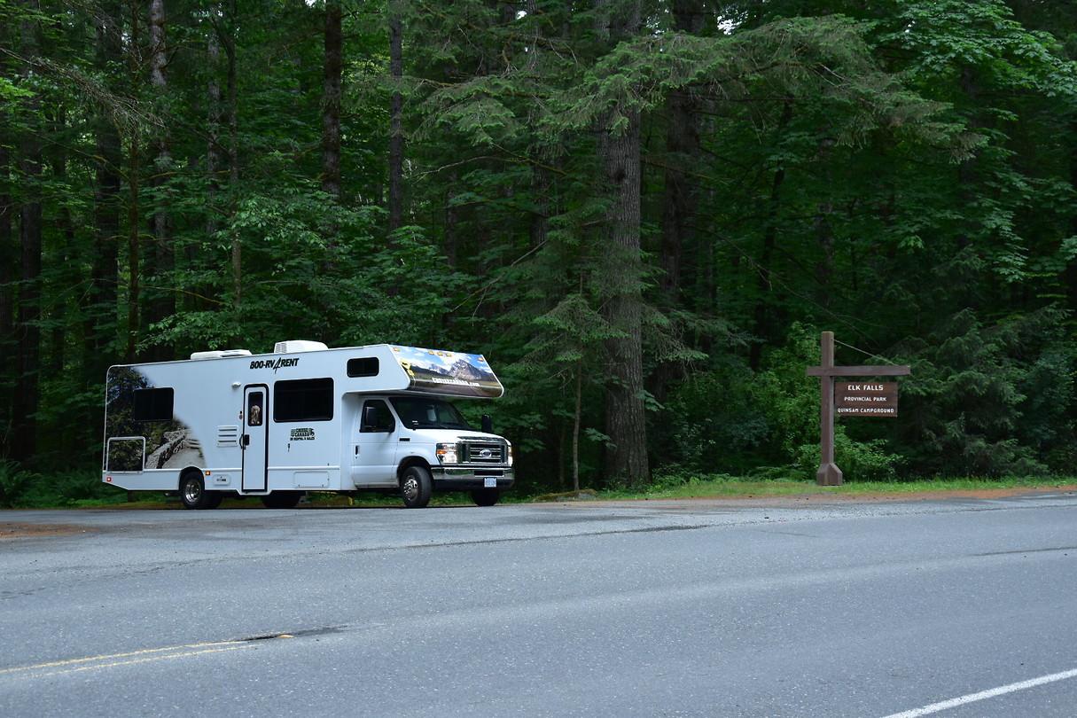 nanaimo living forest oceanside campground reisverhaal. Black Bedroom Furniture Sets. Home Design Ideas
