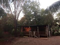 Dubbele cabin bij Litchfield NP