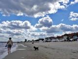 Het strand van Sopot