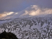 stratovulkaan Snæfell