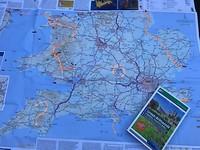 start Harwich en zo naar Schotland