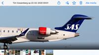 vliegtuig SAS