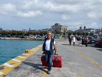 Richting de ferry!