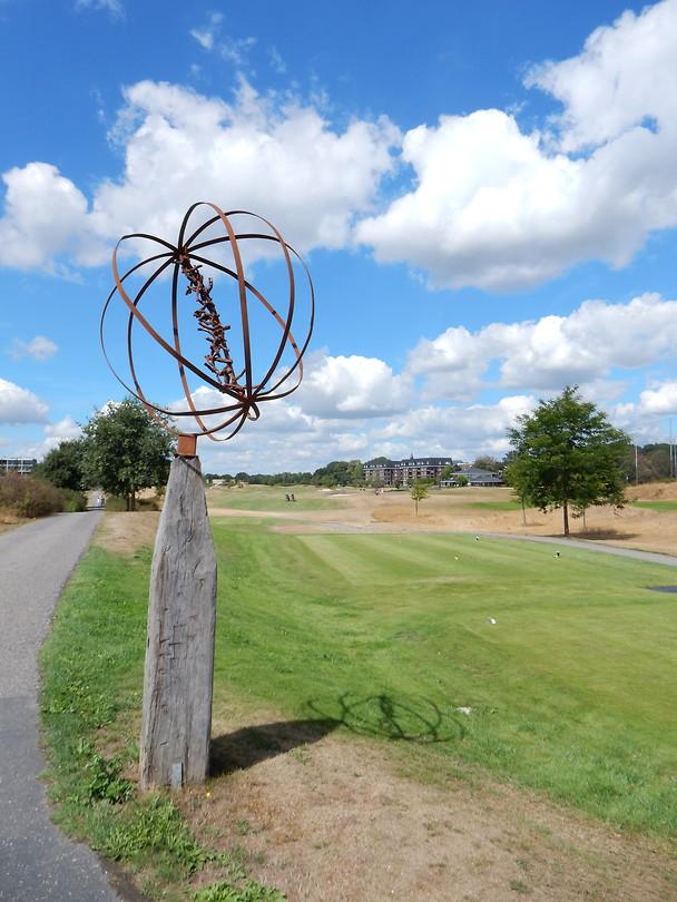 Kunst op de golfbaan!