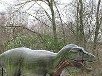 Loslopende Dinosaurus!