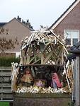 Kunstzinnige kerststal in Esch!