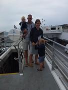 Op de ferry