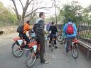 Fietstocht in Delhi