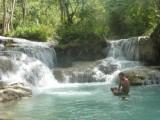 Watervallen in Luang Prabang