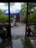 Tropische regenbui