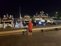 Laatste avond in de haven