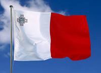 De vlag van Malta