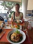 Laatste keer Thais eten hotel Koh Samui