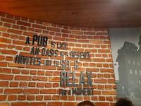 Istanbul airport pub