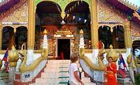 Tempel aan de Mekong