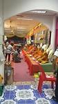 De zegen halen bij de monniken