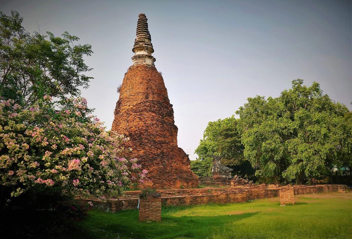 Stupa in Ayuttaya