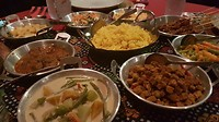 Indonesische 'rijsttafel' bij Wim & Philip