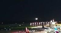 Onze landing op Dusseldorf met de Airbus A 380