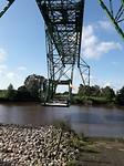 Bijzondere zwevende brug