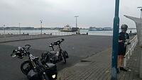 Wachten op het veer Rozenburg - Maassluis