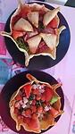 Maandag: tacobakjes met een salade erin
