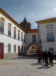 Bisschoppelijk paleis en kathedraal.