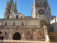 De kerk in Burgos