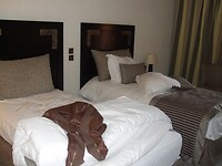 Hotelkamer na vertraging
