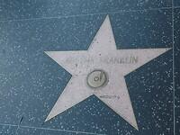 Walk of Fame Aretha Franklin