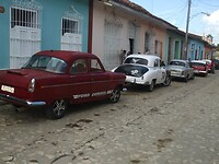 Het straatbeeld van Trinidad