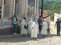 Nonnetjes in Trinidad
