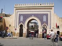 Blauwe poort Bab Boujelud