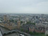 Uitzicht vanuit de London Eye