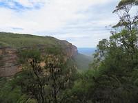 Meer mooi uitzicht van the Blue Mountains