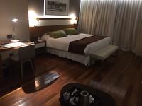 De meest luxueuste hotelkamer van onze ganse reis...