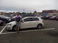 parking lot  Walmart
