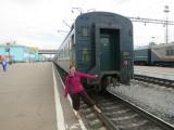 Transsiberia Express - unser Wagon, ganz hinten