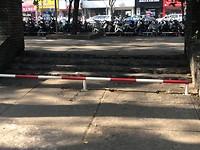 Anti scooter hekje