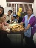 Brood bakken met de kinderen van mijn project